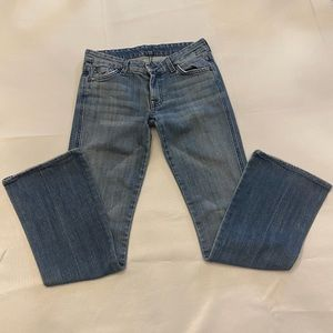 """7 FOR ALL MANKIND Women's Jeans """"A"""" Pocket Size 27"""